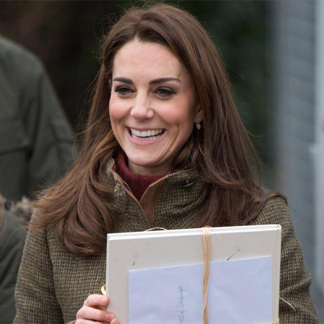 Duchess Catherine quizzed on the Queen's appetite for pizza