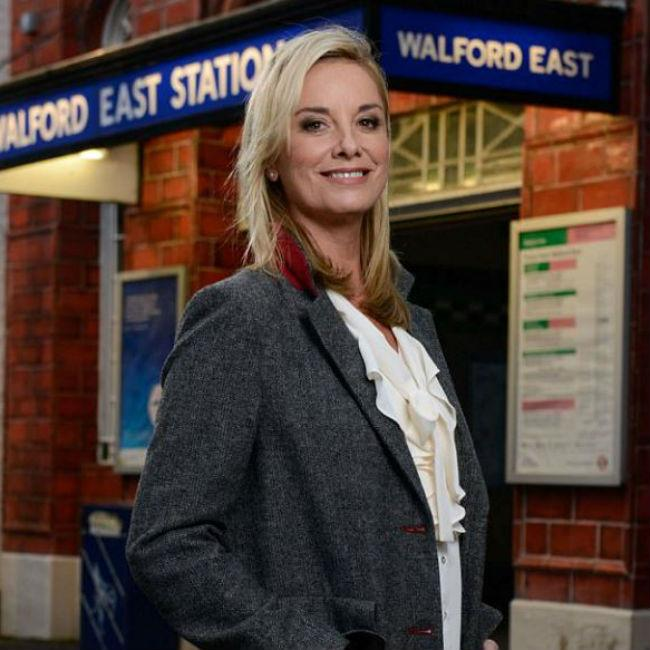 Tamzin Outhwaite discovers George Michael champagne gift