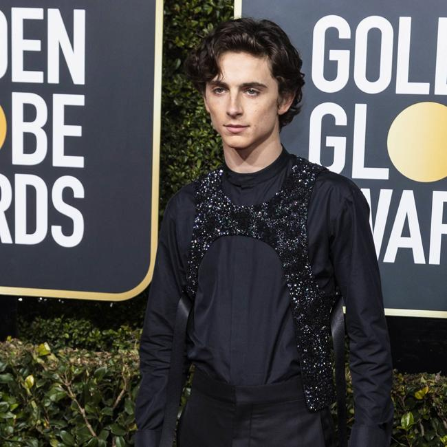 Timothee Chalamet: I didn't wear a sex harness at Golden Globes