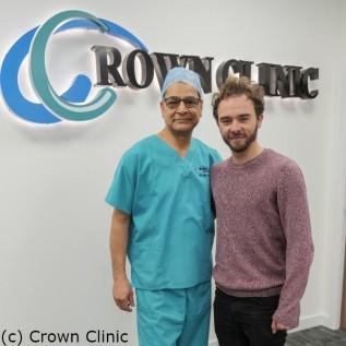 Jack P Shepherd undergoes hair transplant