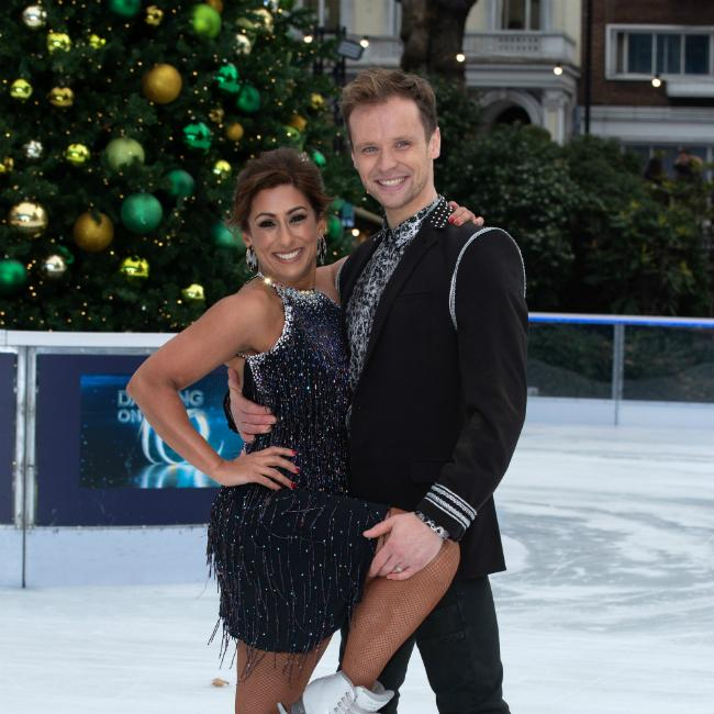 Saira Khan's age and inexperience worried Dancing On Ice's Mark Hanretty