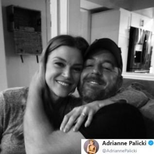 Adrianne Palicki and Scott Grimes engaged