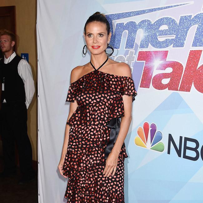Heidi Klum bids farewell to America's Got Talent