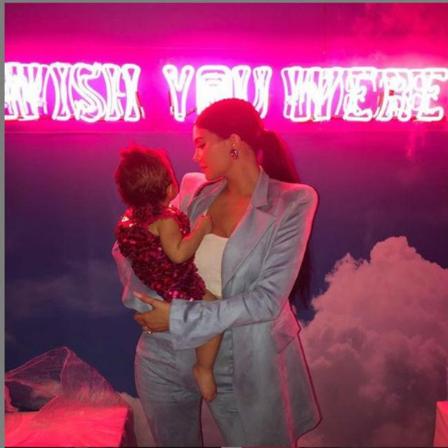 Kylie Jenner throws lavish party for daughter