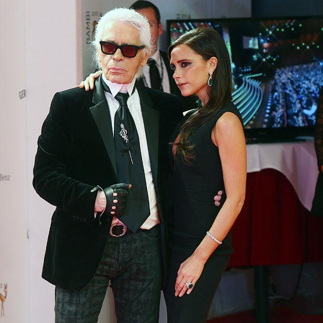 Victoria Beckham leads Karl Lagerfeld tributes as fashion icon dies aged 85