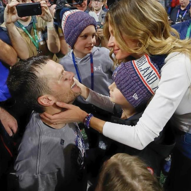 Gisele Bundchen praises Tom Brady