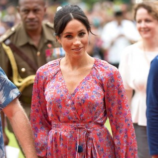 Meghan Markle flew home on Amal Clooney's private jet