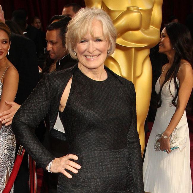 Glenn Close 'trying to stay calm' ahead of Oscars