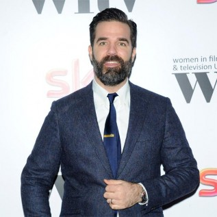 Rob Delaney needed wife's support