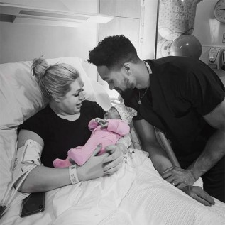 Ashley Banjo and wife Francesca Abbott welcome baby girl