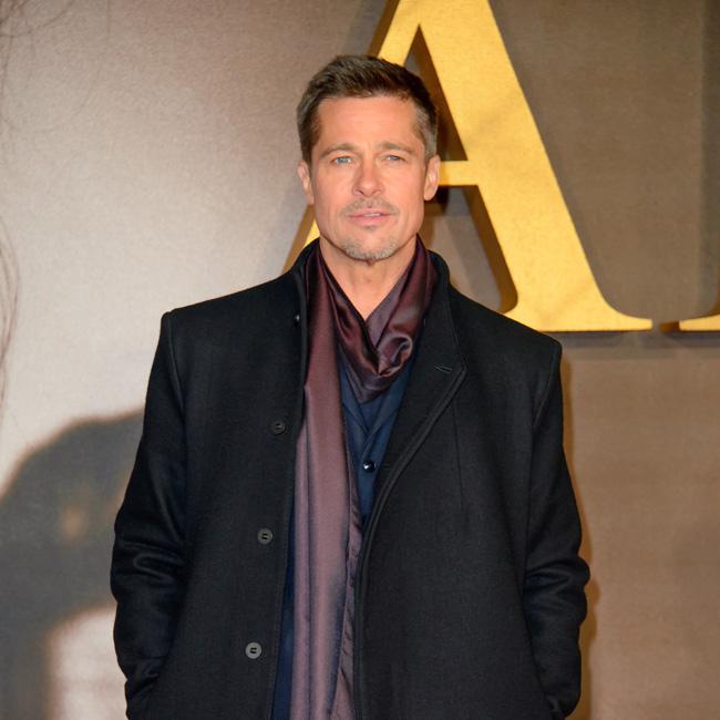 Brad Pitt attends Jennifer Aniston's birthday party