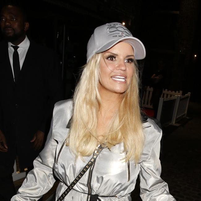 Kerry Katona's daughter spoiled by Westlife