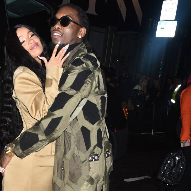Offset shares video of Cardi B giving birth