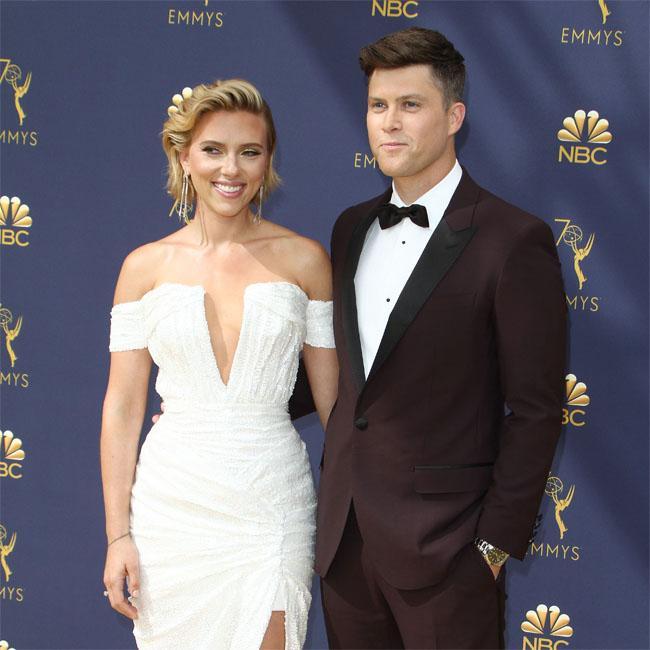 Scarlett Johansson and Colin Jost's wedding plans?