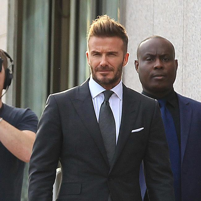 David Beckham statue set to be unveiled in Los Angeles