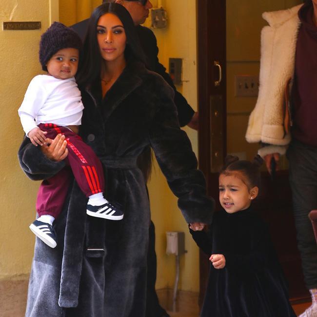 Kim Kardashian West wants to trademark kids' names