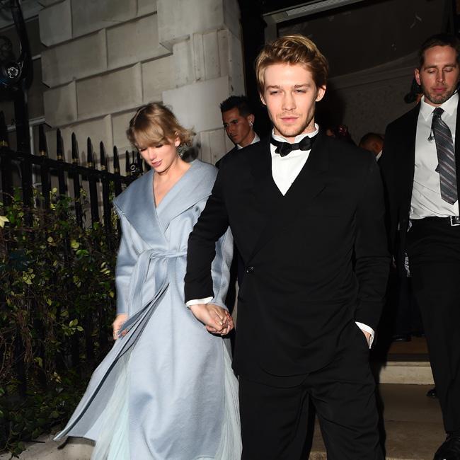 Taylor Swift attends BAFTAs with boyfriend Joe Alwyn
