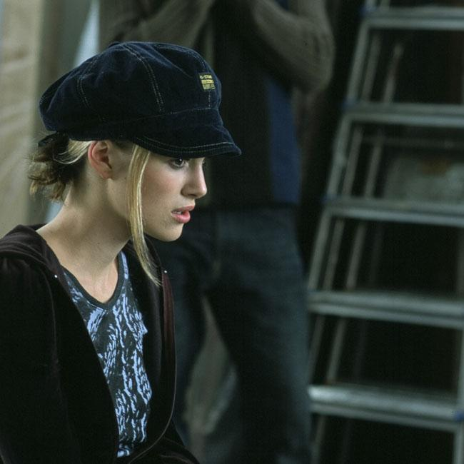 Keira Knightley's infamous hat in Love Actually was to cover up spot