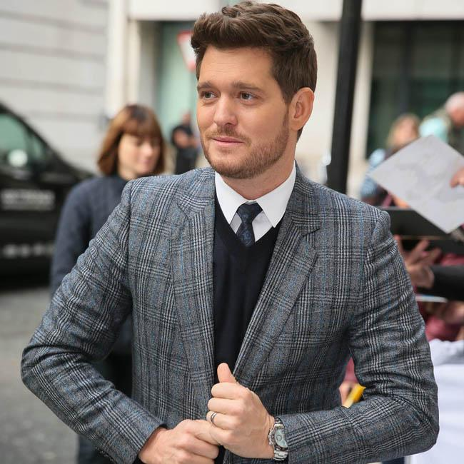 Michael Bublé: It's overwhelming on stage