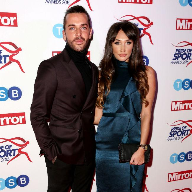 Pete Wicks supporting Megan McKenna after Mike Thalassitis' death