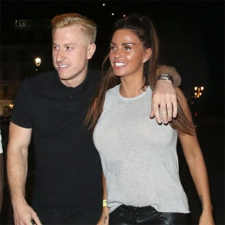 Kris Boyson supports Katie Price in her mental health struggles