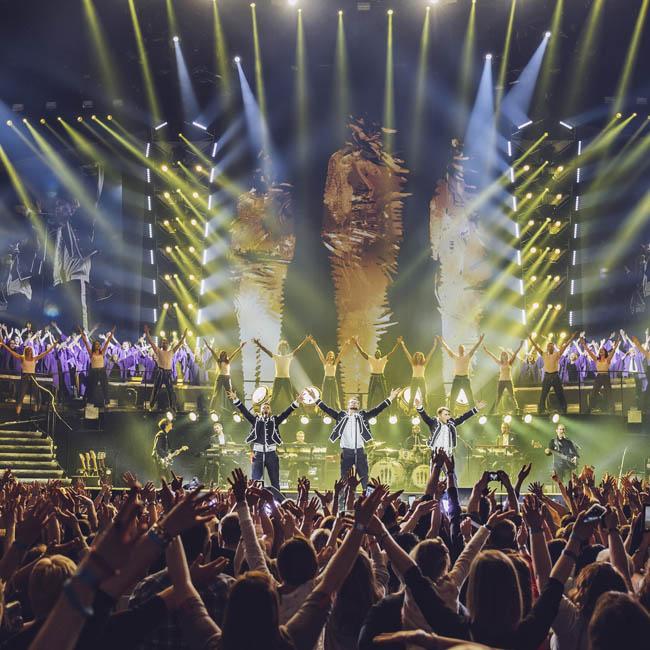 Take That to capture Greatest Hits Tour with Polaroids