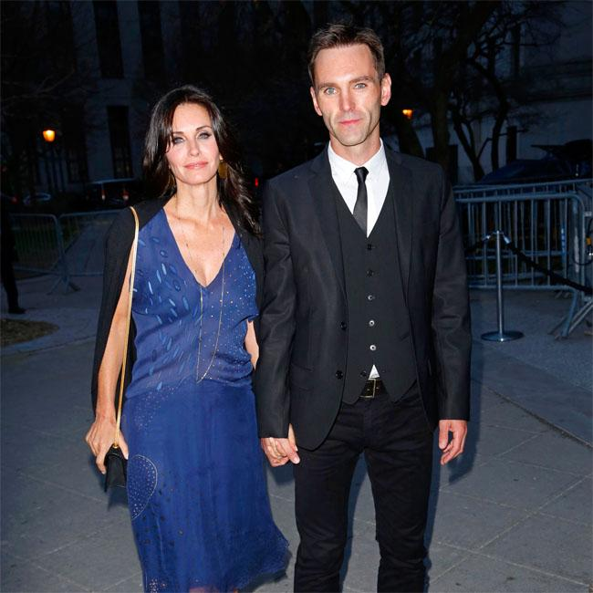 Courteney Cox's boyfriend Johnny McDaid has penned a love song for her
