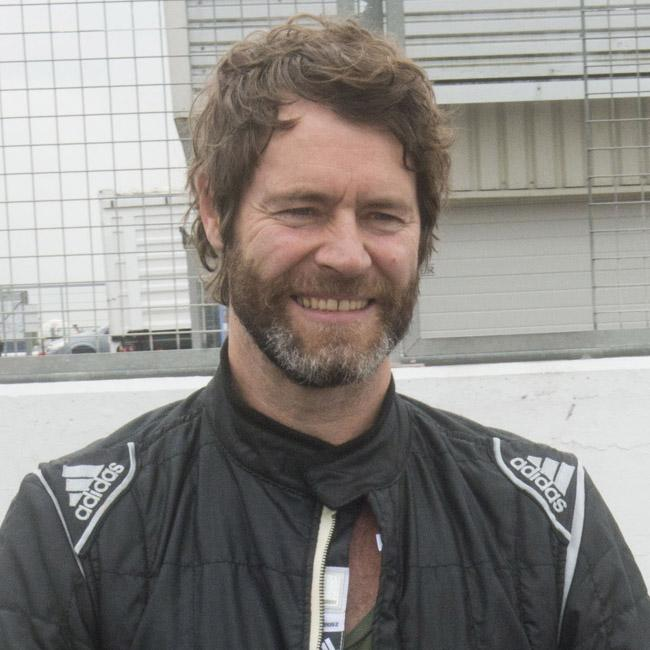 Mission Ignition host Howard Donald loves to race classic cars