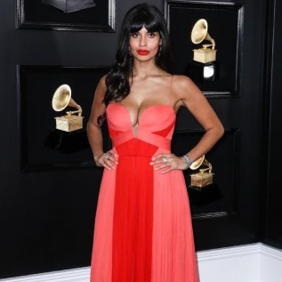 Jameela Jamil claims she was 'punched in the face' by guy at 19