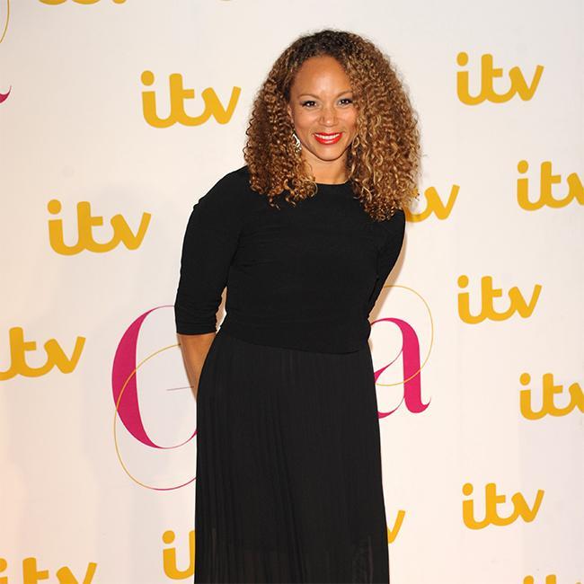Angela Griffin jokes it was 'tough work' playing Idris Elba's love interest