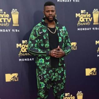 Winston Duke says Lupita Nyongo helps him be his 'biggest and boldest self'