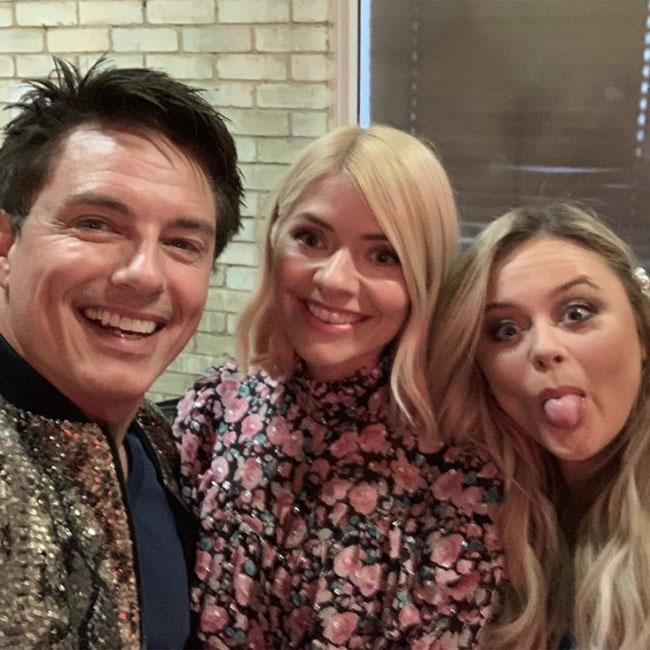 Holly Willoughby braves return to Celebrity Juice after grandmother's funeral