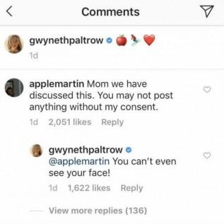 Gwyneth Paltrow annoys daughter