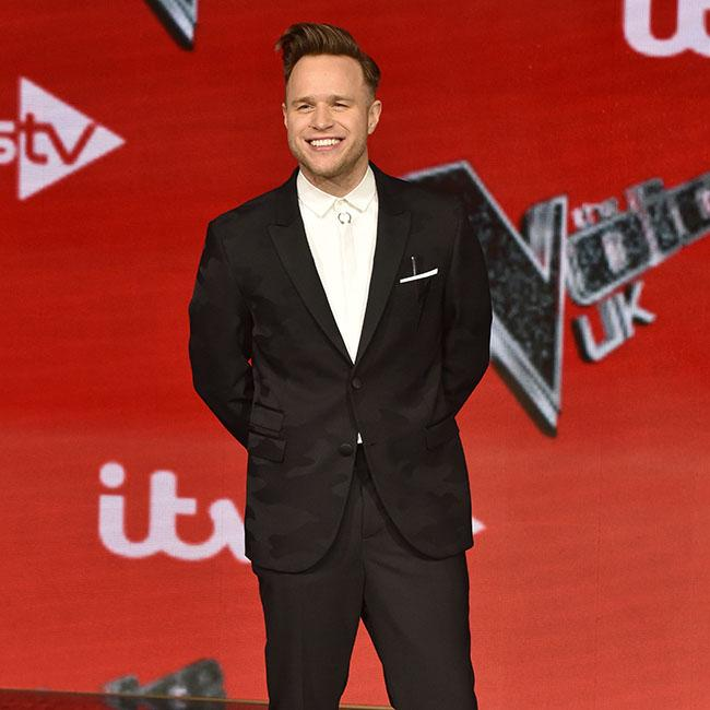 Olly Murs stripped off to celebrate winning The Voice