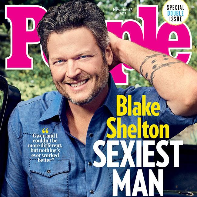 Blake Shelton is 'rproof' anyone can be Sexiest Man Alive