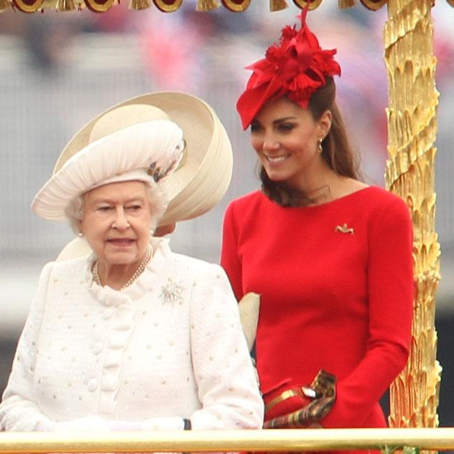 Duchess of Cambridge honoured by Queen Elizabeth