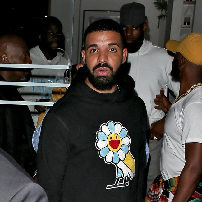 Drake's champagne party