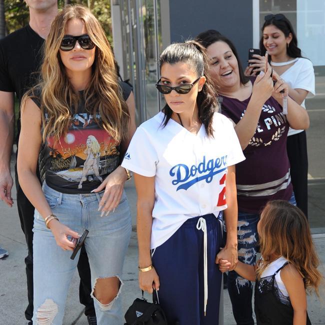 Kourtney Kardashian gets early family birthday messages