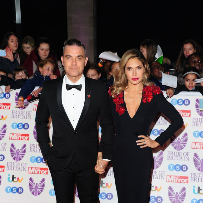 Robbie Williams and Ayda Field quit X Factor
