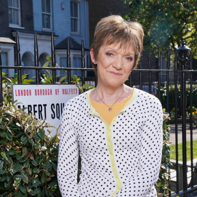 Gillian Wright was 'overwhelmed' by EastEnders plot