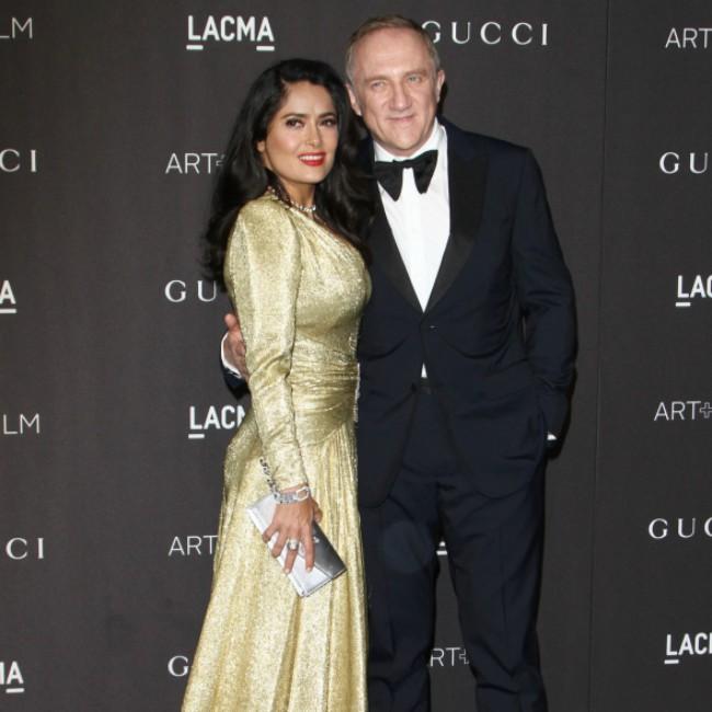 Salma Hayek's husband pledges €100 million to Notre Dame restoration