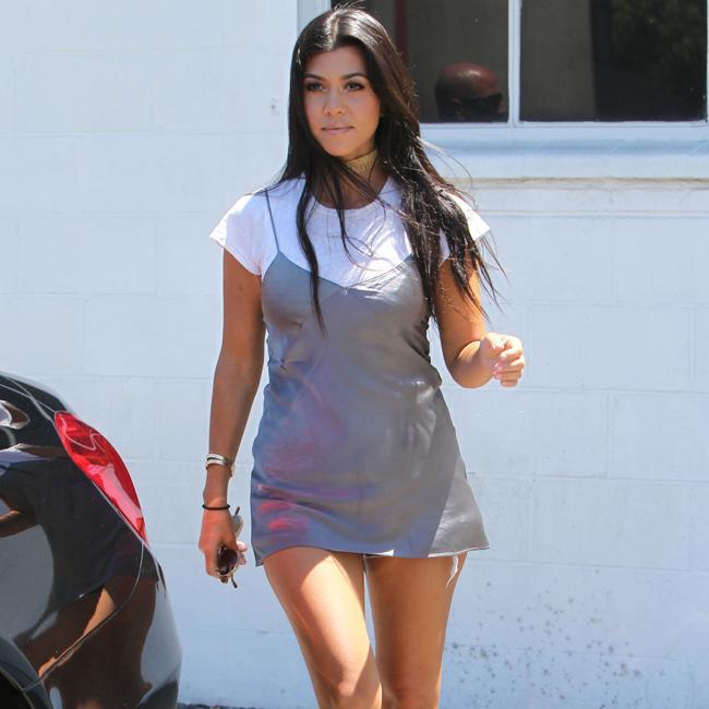 Kourtney Kardashian: Scott Disick is a 'great dad'