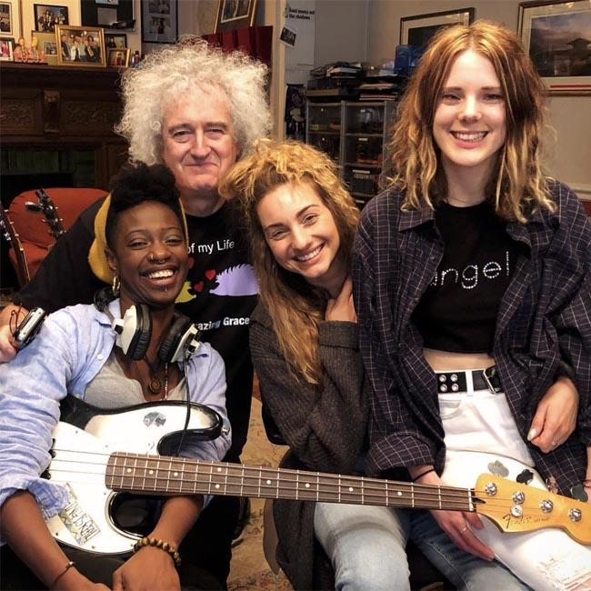 Brian May is mentoring new girl band King's Daughters