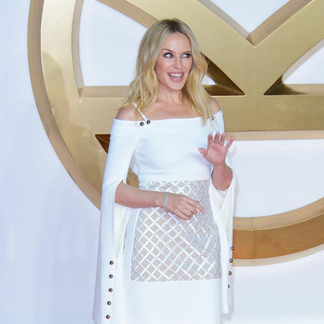 Kylie Minogue 'anixous' about Glastonbury performance