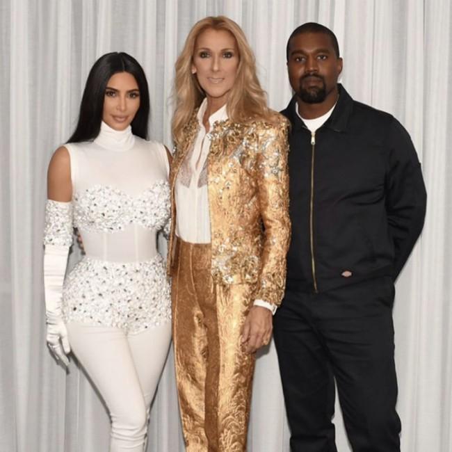 Kanye West surprised wife Kim Kardashian West with Celine Dion show