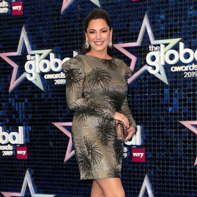 Kelly Brook doesn't speak to her exes