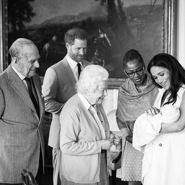 Duke and Duchess of Sussex name baby Archie