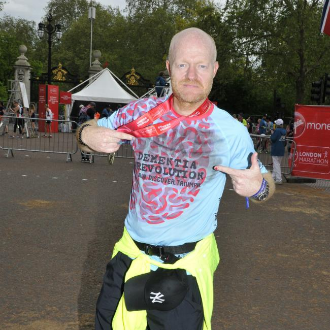 Jake Wood's daughter 'so proud' after London Marathon