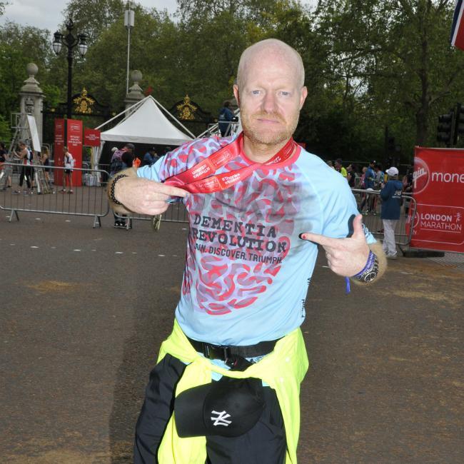 Jake Wood's daughter 'so proud' after London Marathon