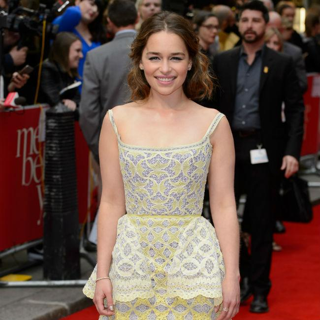 Emilia Clarke 'sick and tired' of discussing nude scenes